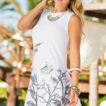 Mapale Swim & Beachwear High-Necked Sheath Dress