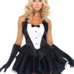 Leg Avenue 3 Pce Bunny Tux Costume