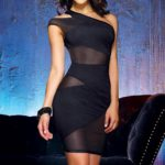 Dreamgirl Black Crush Mini Dress