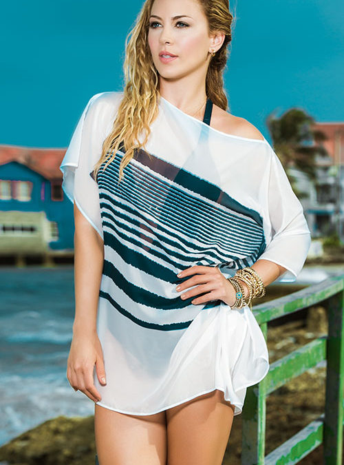 Mapale Swim & Beachwear Classic Tunic Style Cover Up
