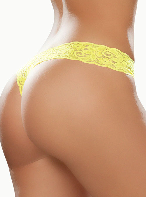 Mapale by Espiral Paisley Lace G-String