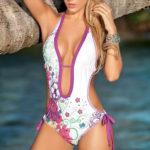 Mapale Swim & Beachwear Floral Print Monokini