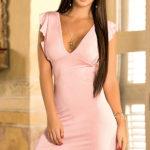 Mapale Swim & Beachwear Flirty Feminine Mini Dress