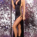 Dreamgirl Erotic Halter Long Dress