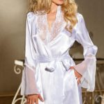 Shirley Of Hollywood Charmeuse Robe