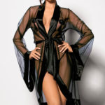 Angels Never Sin Anthis Chiffon Robe