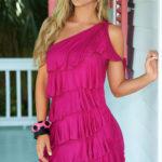 Mapale Swim & Beachwear Pleated Beach Mini Dress