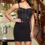 Dreamgirl Starry Night Club Mini Dress