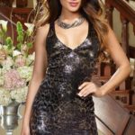 Dreamgirl Lusty Leopard Club Mini Dress