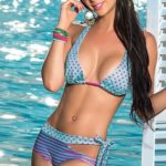 Mapale Swim & Beachwear Polka Dot & Stripe Bikini