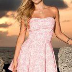 Mapale Swim & Beachwear Flowered Beach Mini Dress