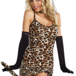 Dreamgirl 3 Pce Purr-Fect Wild Kitty Costume