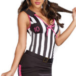 Dreamgirl 2 Pce 'Blow My Whistle' Referee Costume