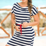 Mapale Swim & Beachwear Classic Nautical Look Dress