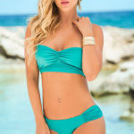Mapale Swim & Beachwear 2 Pce Bikini with Removable Halter Strap