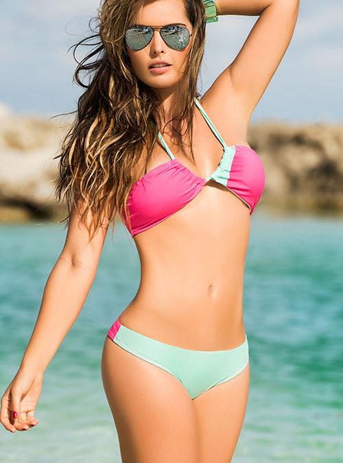 Mapale Swim & Beachwear 2 Pce Halter Bikini