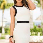 Mapale Swim & Beachwear White Sheath Dress