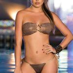 Mapale Swim & Beachwear 2 Pce Cheetah Spots Bikini