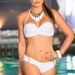 Mapale Swim & Beachwear 2 Pce Bikini with Removable Halter Strap