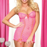 Dreamgirl Chemise with G-String