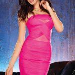 Dreamgirl Bandage Styled Mini Dress