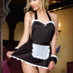 Dreamgirl Maid Me Dirty 4 Pce Costume