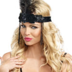Dreamgirl Flapper Headpiece