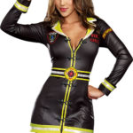 Dreamgirl 3 Pce Fire Department Costume