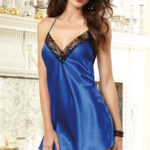 Dreamgirl Satin with Lace Chemise
