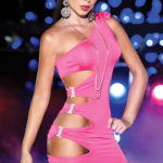 Mapale by Espiral Side Cut-Out Mini Dress
