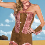 Dreamgirl 5 Pce Wild West Show Costume