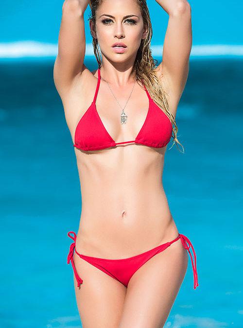 Mapale Swim & Beachwear 2 Pce Thong Bikini Set