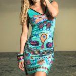 Mapale Swim & Beachwear Bohemian Print Dress