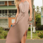 Mapale Swim & Beachwear Mocha Dream Maxi Dress