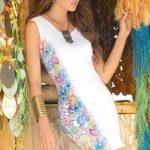 Mapale Swim & Beachwear Flirty Floral Tank Dress