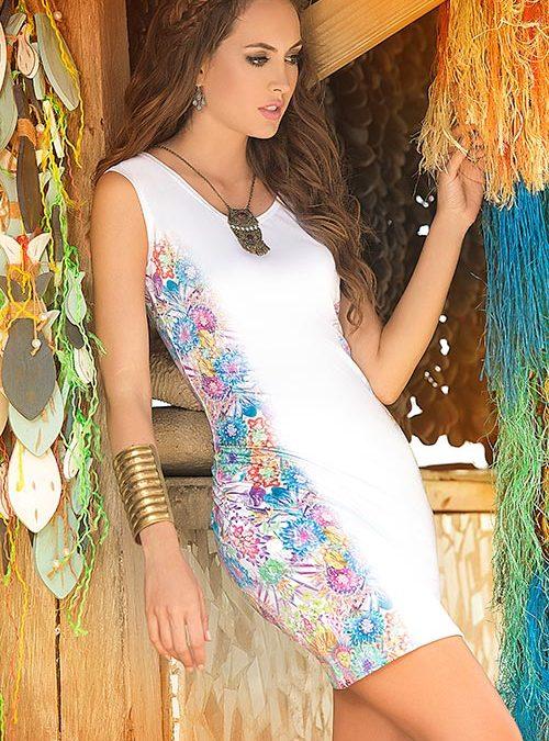 Mapale Swim & Beachwear 2 Pce Floral Thong Bikini Set
