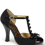 Pin Up Couture 4″ Heel Dorsay Pump