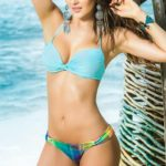 Mapale Swim & Beachwear 2 Pce Eye Popping Plaid Bikini Set
