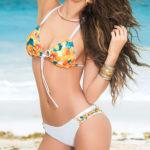Mapale Swim & Beachwear 2 Pce Racerback Bikini Set