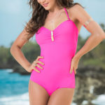 Mapale Swim & Beachwear One Piece Swimsuit with Removable Halter Strap