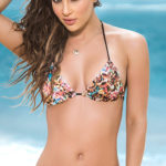 Mapale Swim & Beachwear Classic Spring Print Triangle Bikini Top