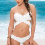 Mapale Swim & Beachwear Waistband Ruched Panty