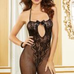 Dreamgirl Fishnet & Lace Bodystocking