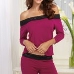 Dreamgirl Ultra-Soft  Sleep Shirt with Pant