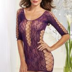 Dreamgirl Lace Chemise with Cut-Outs