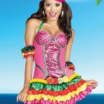 Dreamgirl Juanna Banana 3 Piece Costume
