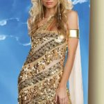 Dreamgirl Golden Goddess 3 Pce Costume